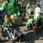 Twin Club in the St. Patricks day parade