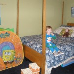 Logan moves to his Big Boy room