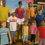 Hanging out in Old Navy
