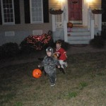 Trick or Treating with Will