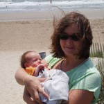 First trip to the beach and our first Mother's Day