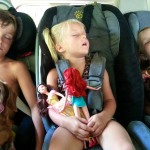 After a long day at the lake!